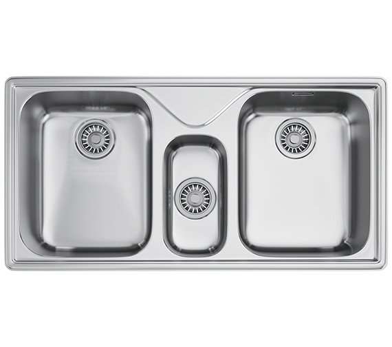 Franke Ariane ARX 670 Stainless Steel 2.5 Bowl Kitchen Inset Sink
