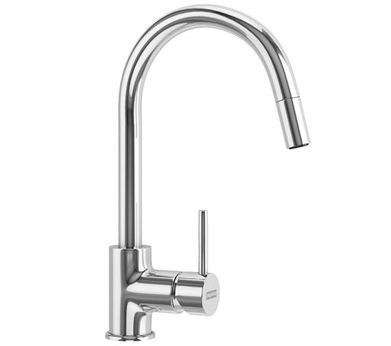 Franke Aria Pull-Out Nozzle Kitchen Sink Mixer Tap Chrome
