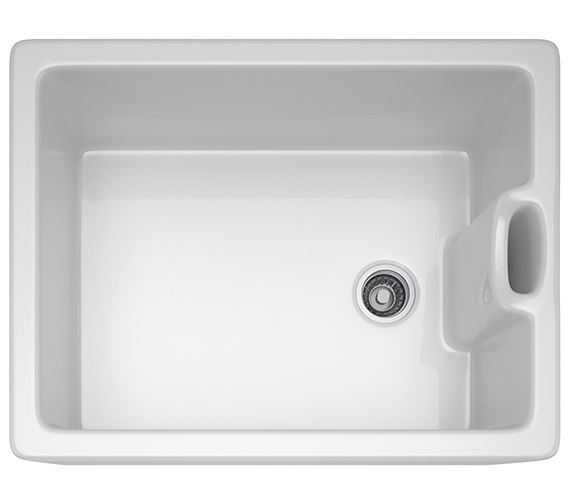 Franke Belfast BAK 710 Ceramic White 1.0 Bowl Kitchen Sink
