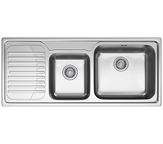 Franke Galassia GAX 621 1.5 Bowl Stainless Steel Kitchen Inset Sink