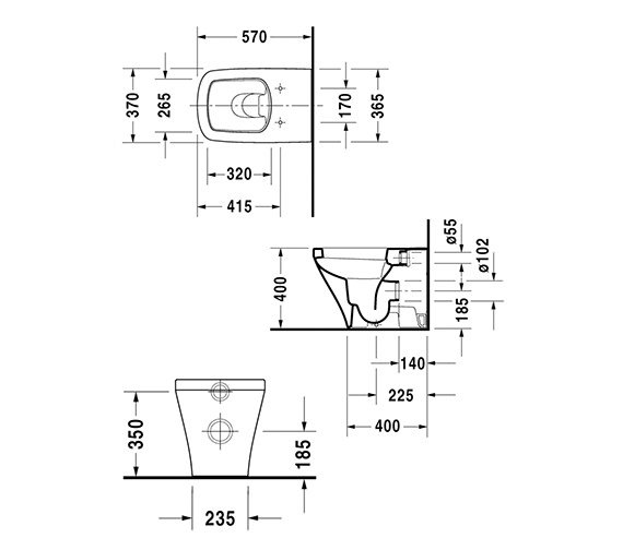Technical drawing QS-V24926 / 2150090000