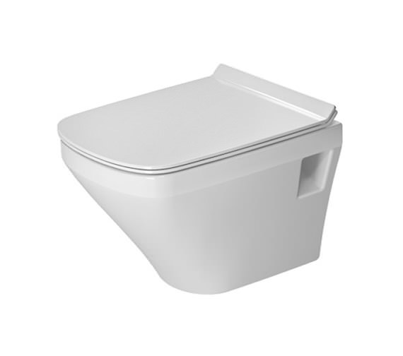 Duravit DuraStyle 370 x 480mm Wall Mounted Compact Toilet - 2539090000