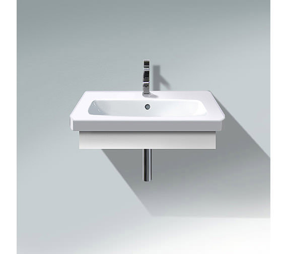 Duravit DuraStyle 730mm Washbasin Trim With Basin - DS608101818