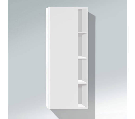 Duravit DuraStyle 1400 x 240mm Tall Cabinet - DS1238L1818