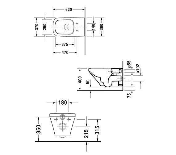 Technical drawing QS-V24919 / 2542090000