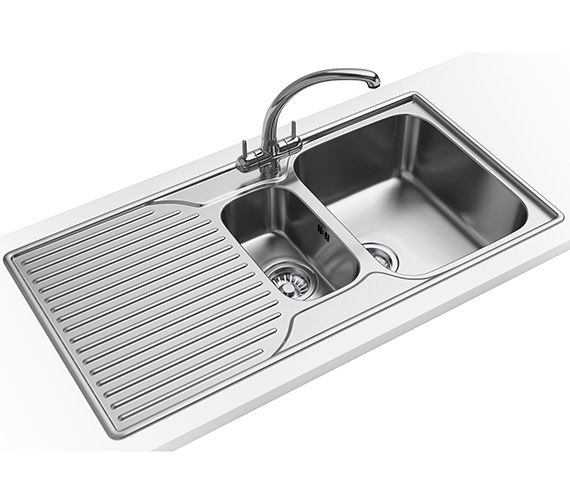 Franke Ariane Propack ARX 651P Stainless Steel Kitchen Sink And Tap