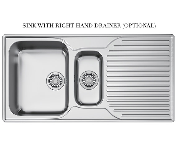 Alternate image of Franke Ariane Propack ARX 651P Stainless Steel Kitchen Sink And Tap