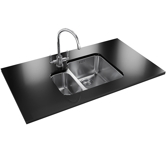 Franke Ariane Designer Pack Arx 160 Stainless Steel Sink And Tap 1220154926