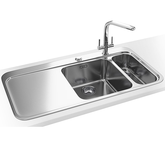 Franke Sinos Designer Pack SNX 261 1.5 Bowl Stainless Steel Sink And Tap
