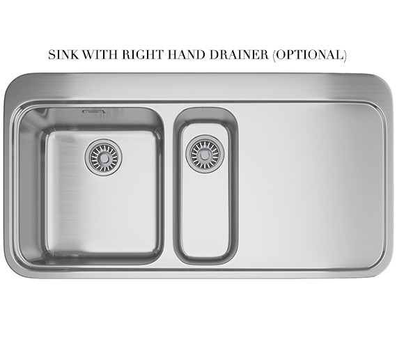 Alternate image of Franke Sinos Designer Pack SNX 251 1.5 Bowl Stainless Steel Sink And Tap