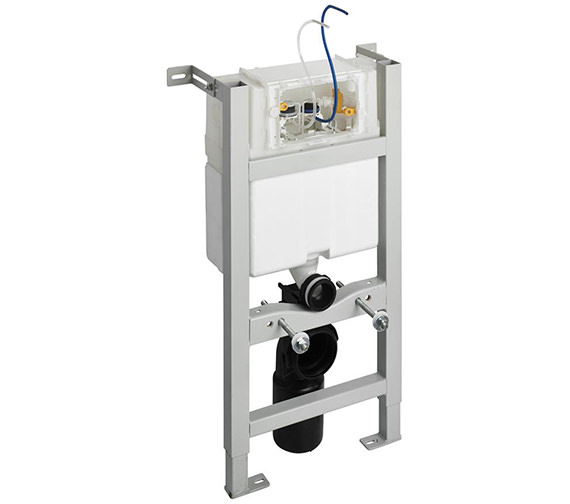 Ideal Standard In-Wall 820mm WC Frame With Pneumatic Top Or Front Operation