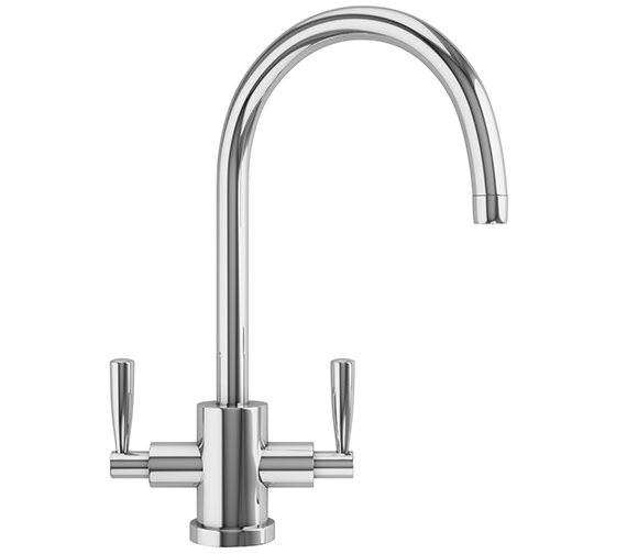 Additional image of Franke Rotondo Designer Pack RUX 110 Stainless Steel Sink And Tap
