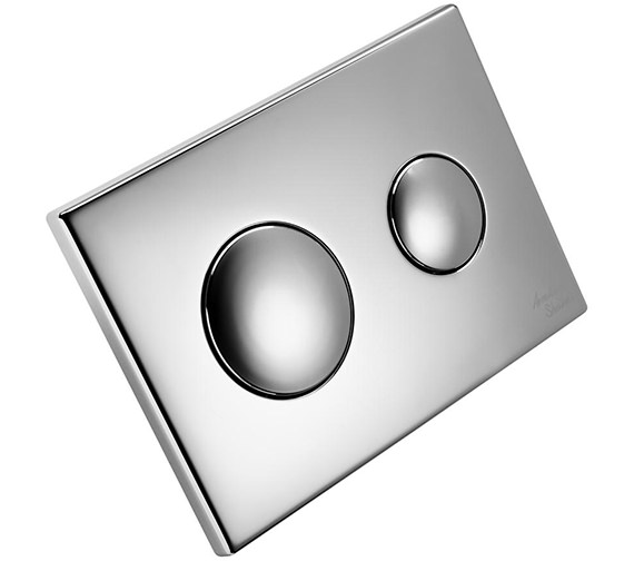 Armitage Shanks Contemporary Dual Flush Plate With Logo