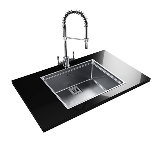 Franke Centinox Designer Pack CEX 210 Stainless Steel Sink And Tap