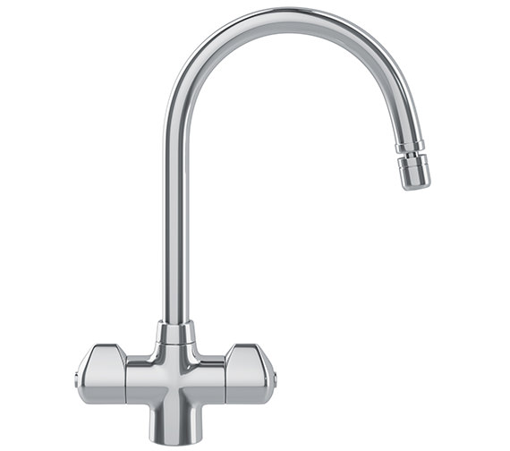 Franke Moselle Kitchen Sink Mixer Tap Chrome - 115.0049.976