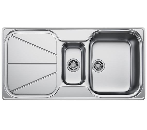 Franke Simplon SPX 651 Stainless Steel 1.5 Bowl Kitchen Inset Sink
