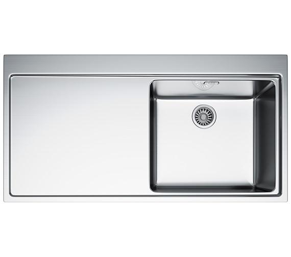 Franke Mythos MMX 211 Slim-Top 1.0 Bowl Stainless Steel Inset Sink