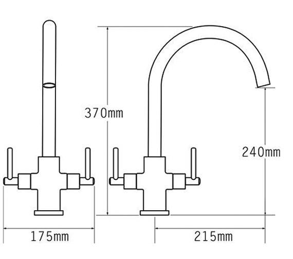 Technical drawing QS-V81030 / 91050