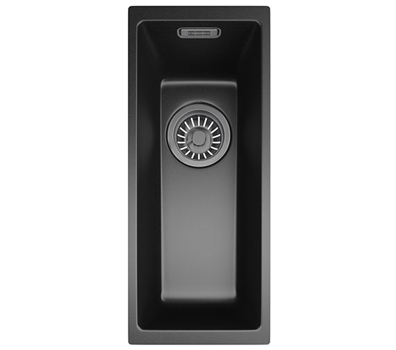 Franke Sirius SID 110 16 Tectonite Carbon Black 1.0 Bowl Undermount Sink