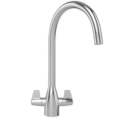 Franke Davos J Kitchen Sink Mixer Tap Chrome - 115.0050.044
