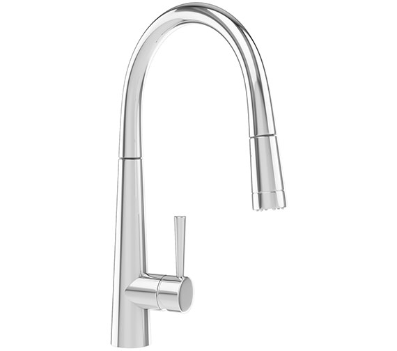 Franke Rolux Pull-Out Nozzle Kitchen Sink Mixer Tap Chrome