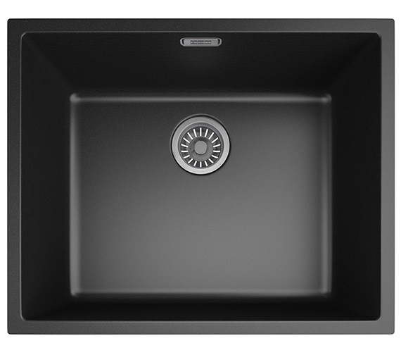 Franke Sirius SID 110 50 Tectonite Carbon Black 1.0 Bowl Undermount Sink