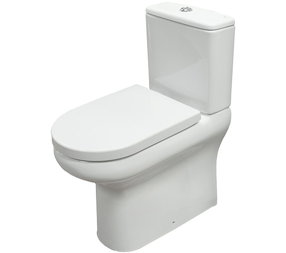 RAK Compact Deluxe Close Coupled Fully Back To Wall WC Pack 625mm