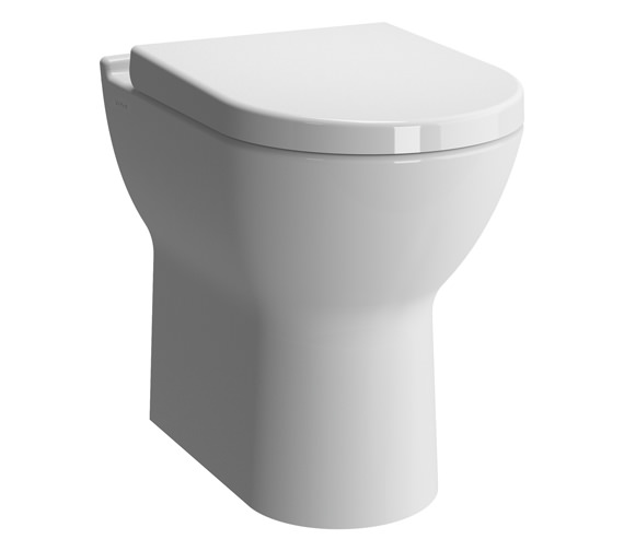 VitrA S50 Comfort Height Back To Wall WC Pan With Toilet Seat