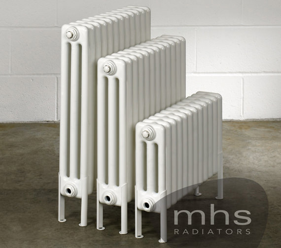 MHS Multisec Floor 3 Column Radiator 1350 x 599mm - NMF-0500-3-30