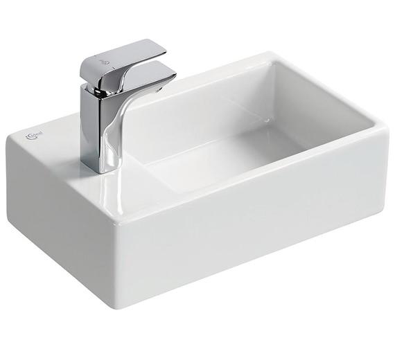 Ideal Standard Strada 450mm Left Hand 1TH Handrinse Countertop Basin