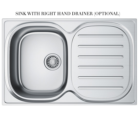 Alternate image of Franke Compact Plus DP CPX P 611 780 Stainless Steel Sink And Tap