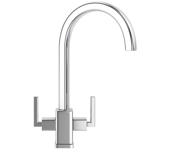 Additional image of Franke Kubus Designer Pack KBX 160 45-20 Stainless Steel Sink And Tap