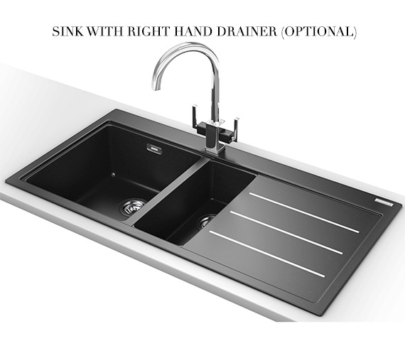 Alternate image of Franke Mythos Fusion Designer Pack MTF 651-100 Fragranite Onyx Sink And Tap