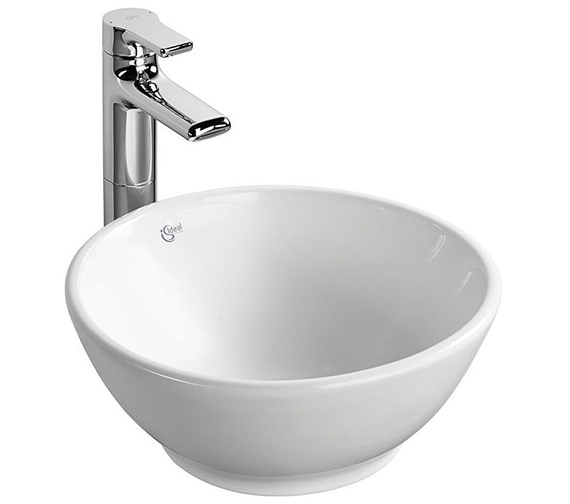 Ideal Standard Strada 380mm O Round Vessel Washbasin - K083201
