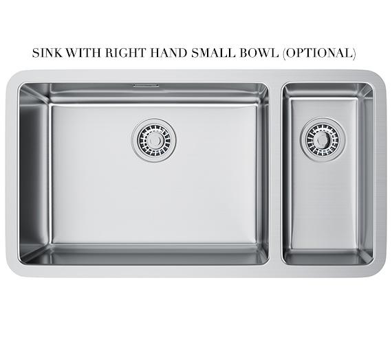 Alternate image of Franke Kubus Designer Pack KBX 160 55-20 Stainless Steel Sink And Tap