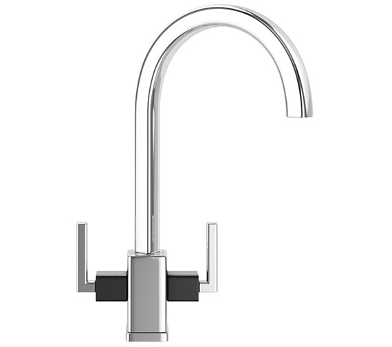 Additional image of Franke Mythos Fusion Designer Pack MTF 651-100 Fragranite Onyx Sink And Tap