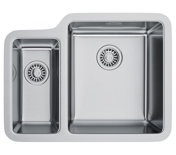Franke Kubus KBX 160 34-16 Stainless Steel 1.5 Bowl Undermount Sink
