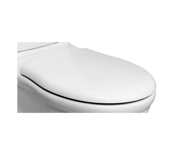 Ideal Standard Alto WC Toilet Seat And Cover With Stainless Steel Hinges