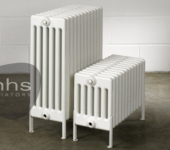MHS Multisec Floor 6 Column Radiator 945 x 399mm - NMF-0300-6-21