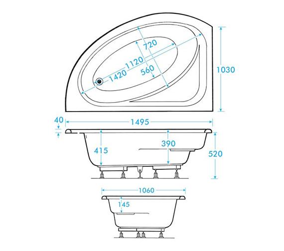 Technical drawing QS-V59902 / AB0596