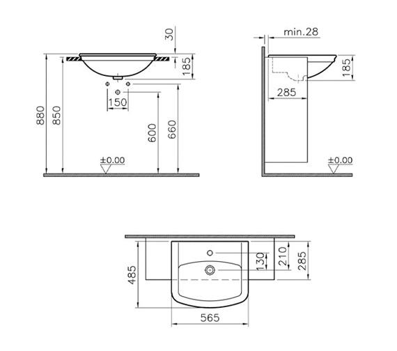 Technical drawing QS-V59739 / 4170B003-0002