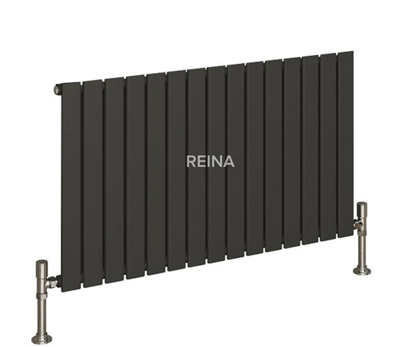 Alternate image of Reina Flat Horizontal Single Panel Designer Radiator 1254 x 600mm