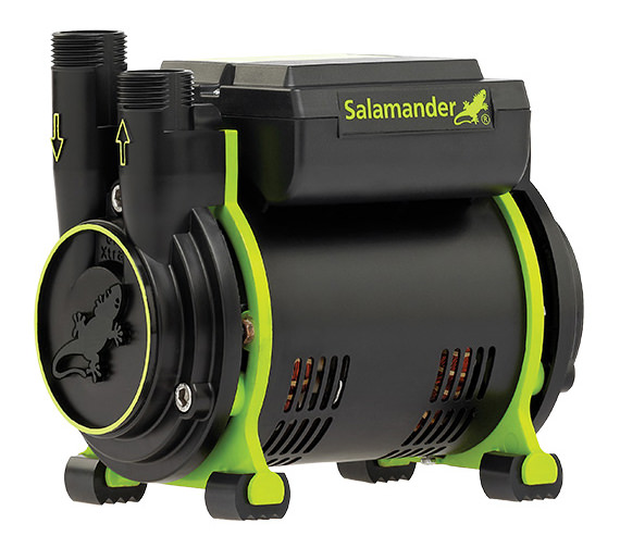 Salamander CT55 Xtra 1.5 Bar Single Impeller Positive Head Shower Pump