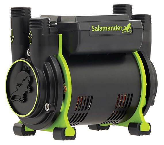 Salamander CT75 Xtra 2.0 Bar Twin Impeller Positive Head Shower Pump