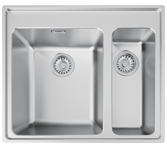 Franke Midas MTX 660 34-16 Stainless Steel 1.5 Bowl Inset Kitchen Sink