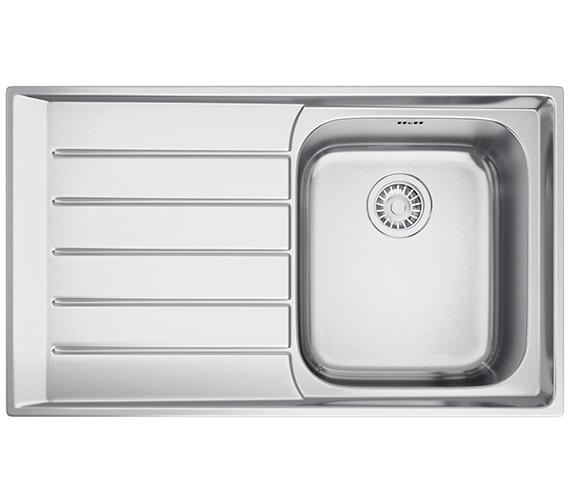 Franke Neptune NEX 211 Stainless Steel 1.0 Bowl Kitchen Inset Sink