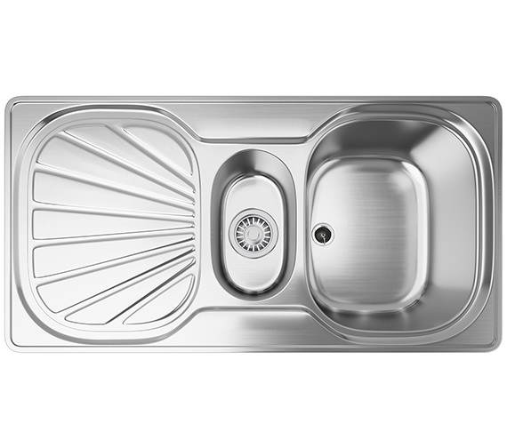 Franke Erica EUX 651 Stainless Steel 1.5 Bowl Kitchen Inset Sink