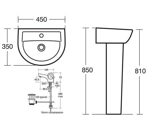 Technical drawing QS-V10659 / S049701