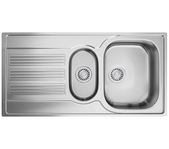 Franke Galileo GOX 651 Stainless Steel 1.5 Bowl Kitchen Inset Sink