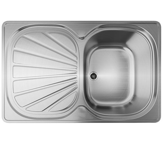 Franke Erica EUX 611 78 Stainless Steel 1.0 Bowl Kitchen Inset Sink